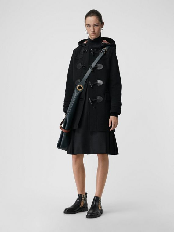 The Mersey Duffle Coat in Black