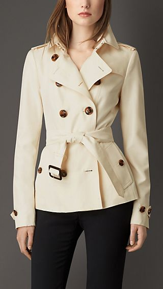 Silk Trench Jacket