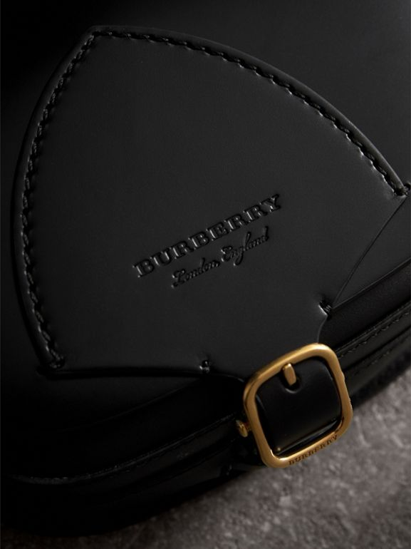 The Satchel aus Leder in Zaumzeug-Optik (Schwarz) - Damen | Burberry - cell image 1