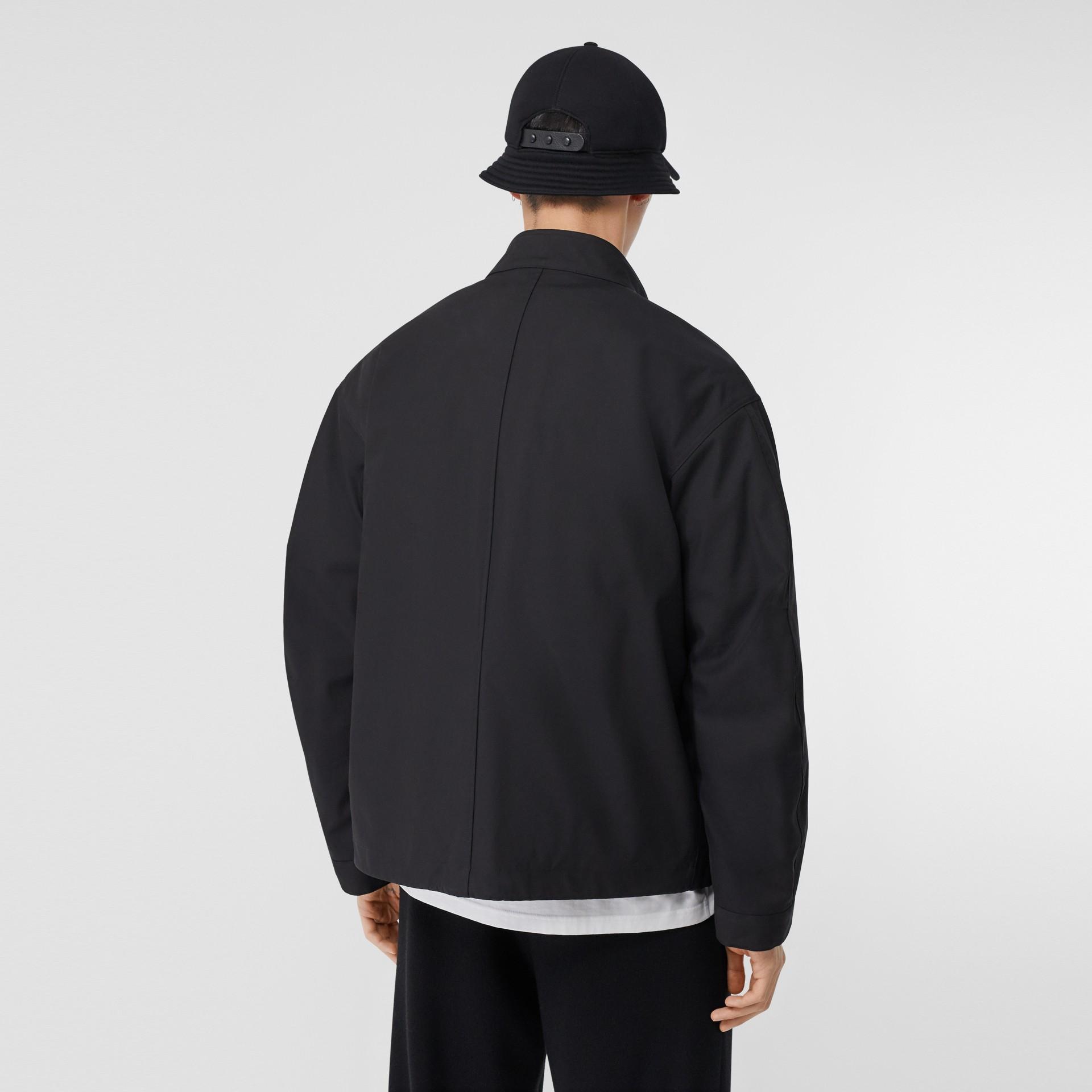 Veste en coton contrecollé avec gilet intérieur amovible (Noir) - Homme | Burberry - photo de la galerie 2