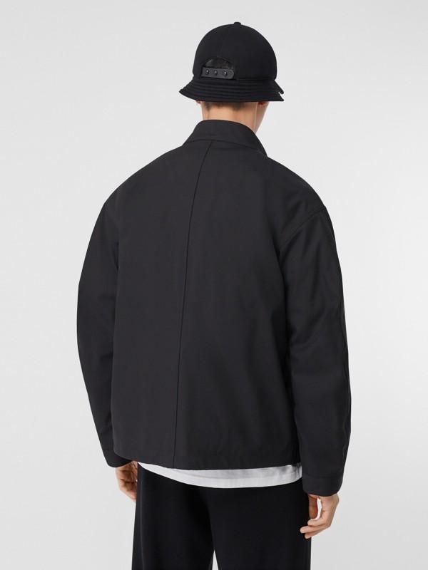 Veste en coton contrecollé avec gilet intérieur amovible (Noir) - Homme | Burberry - cell image 2