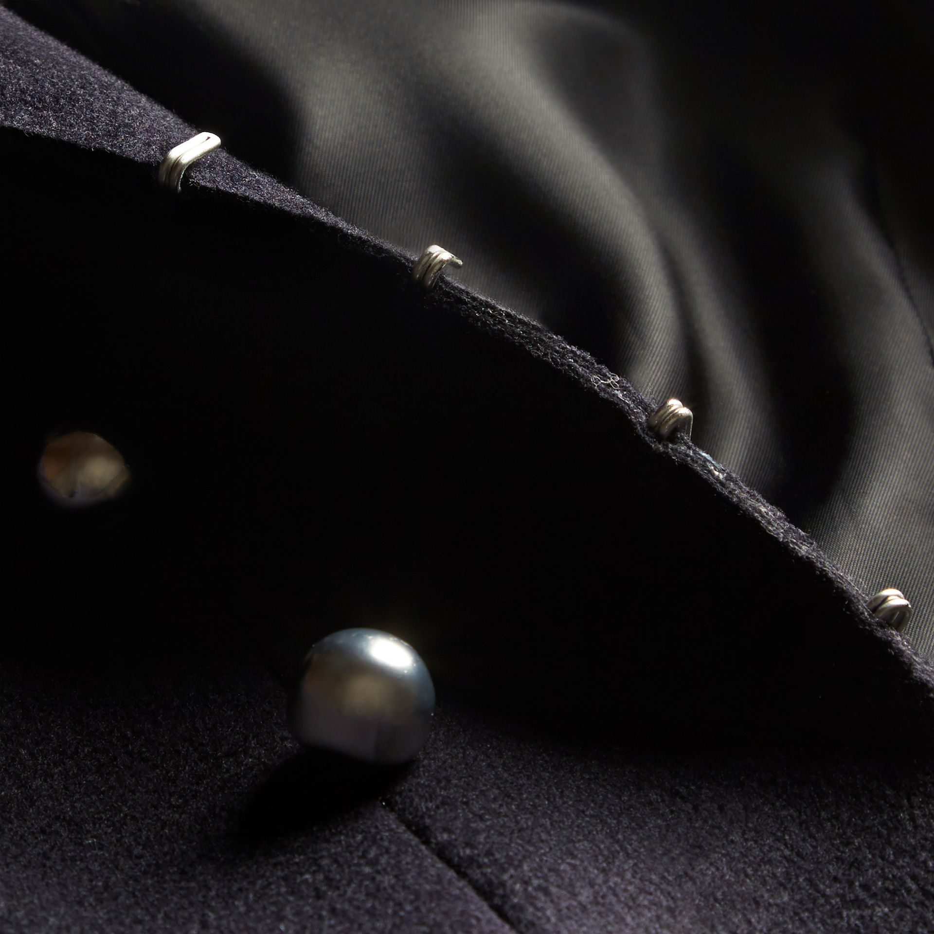 Dark navy The Military Tailcoat - gallery image 2
