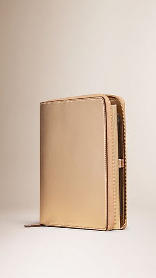 Embossed Twill Leather A5 Diary