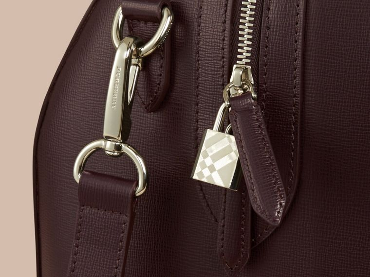 Wine London Leather Holdall - cell image 4
