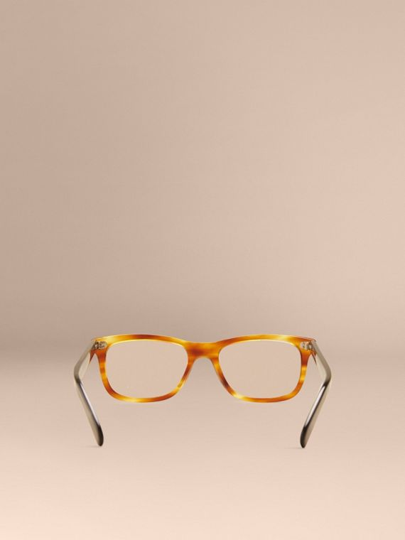 Square Optical Frames in Tortoise Amber - cell image 3