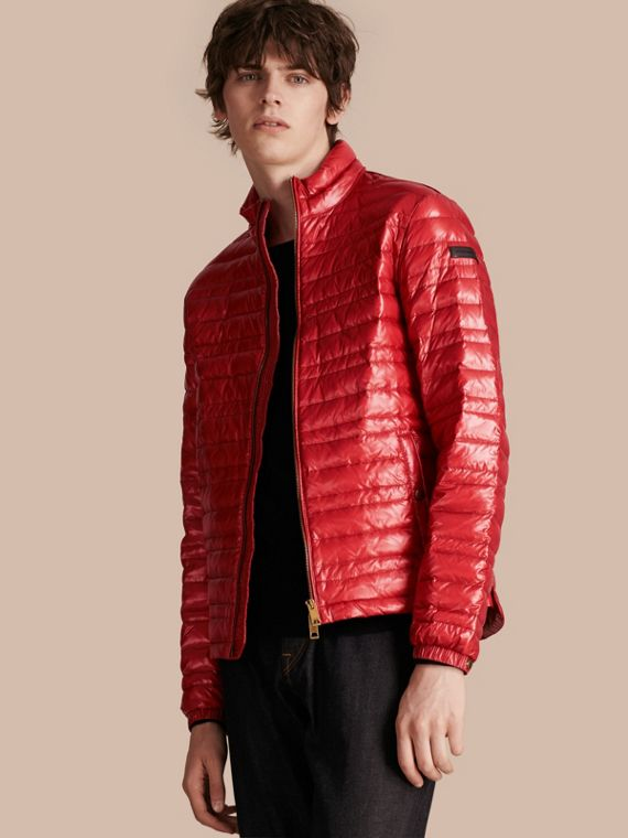 Lightweight Down-filled Jacket Parade Red