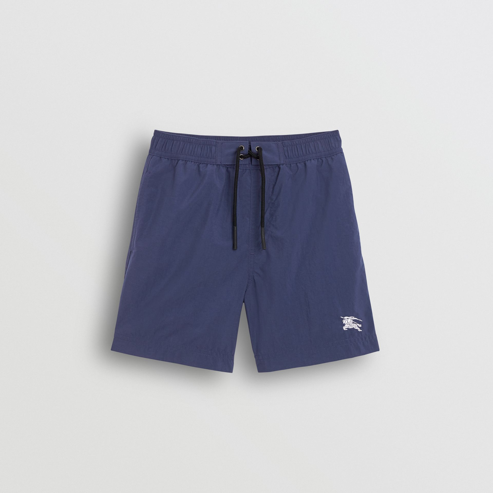 Drawcord Swim Shorts in Indigo | Burberry - gallery image 0