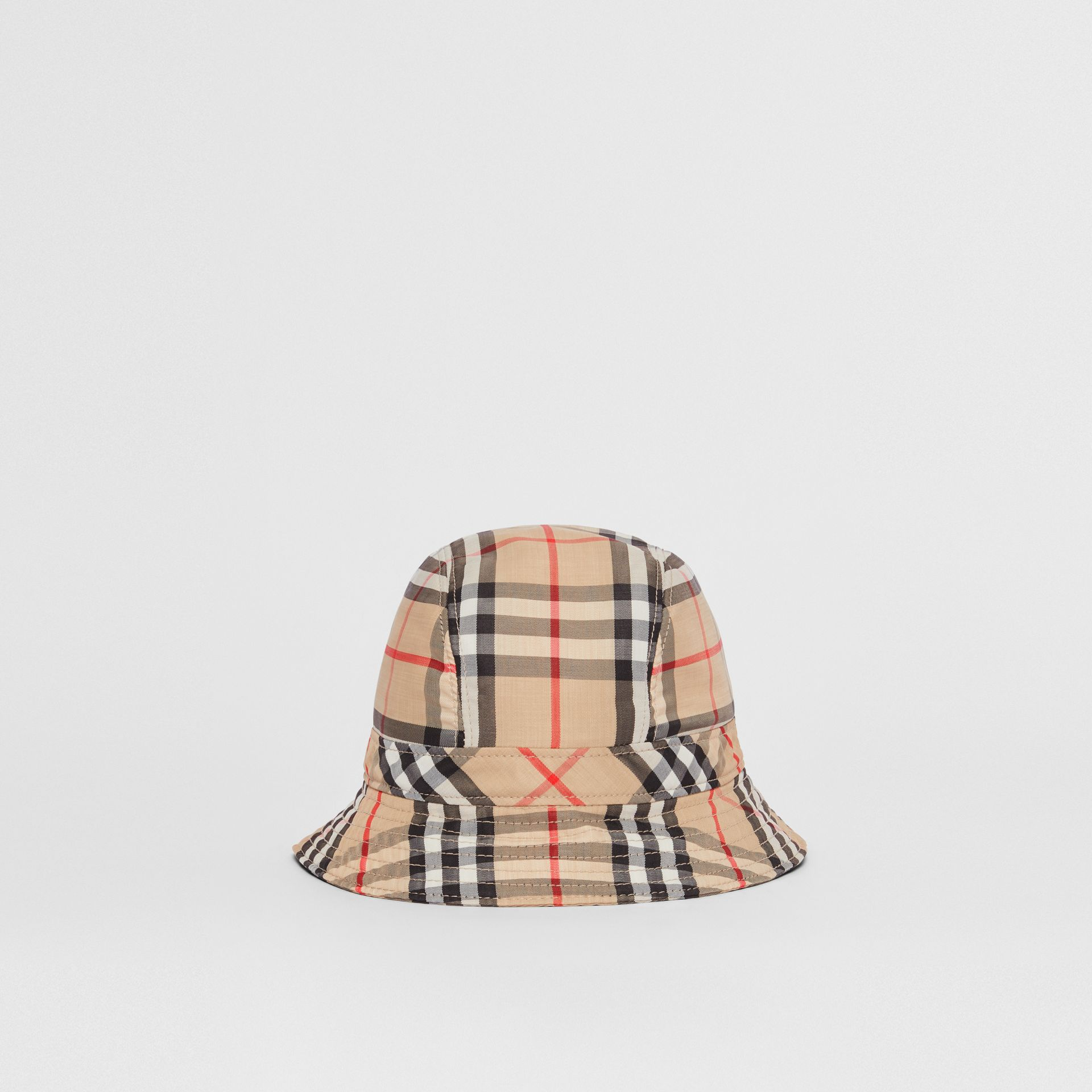 Vintage Check Bucket Hat in Archive Beige | Burberry Australia - gallery image 4