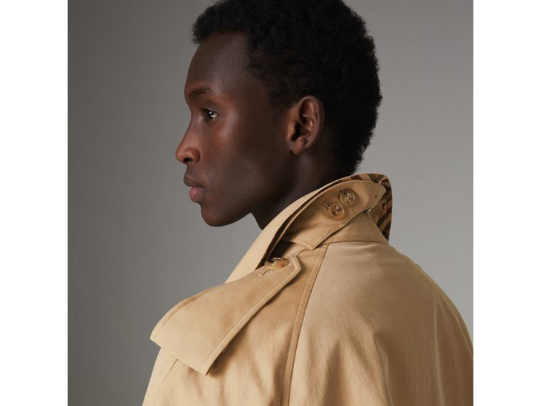 The Westminster Heritage Trench Coat in Honey - Men | Burberry Singapore - cell image 1