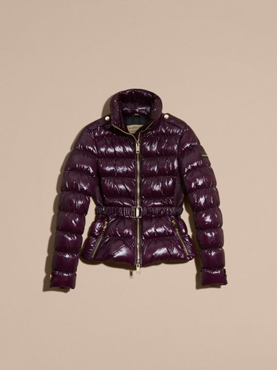 Dark elderberry Lightweight Down-filled Jacket Dark Elderberry - cell image 3