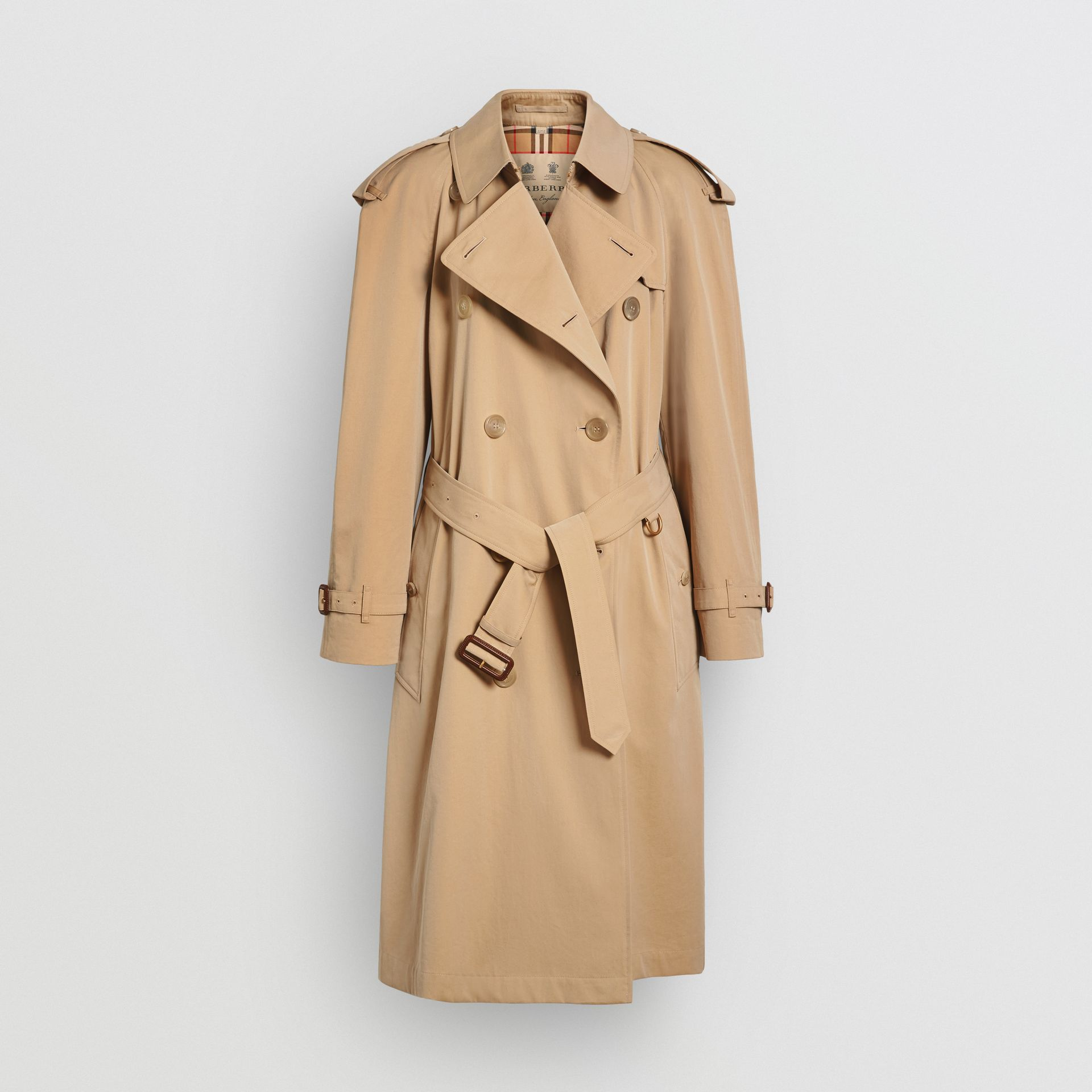 The Westminster Heritage Trench Coat in Honey - Women | Burberry Australia - gallery image 3