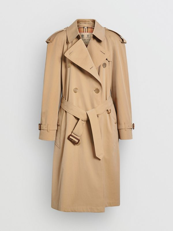 The Westminster Heritage Trench Coat in Honey - Women | Burberry Australia - cell image 3