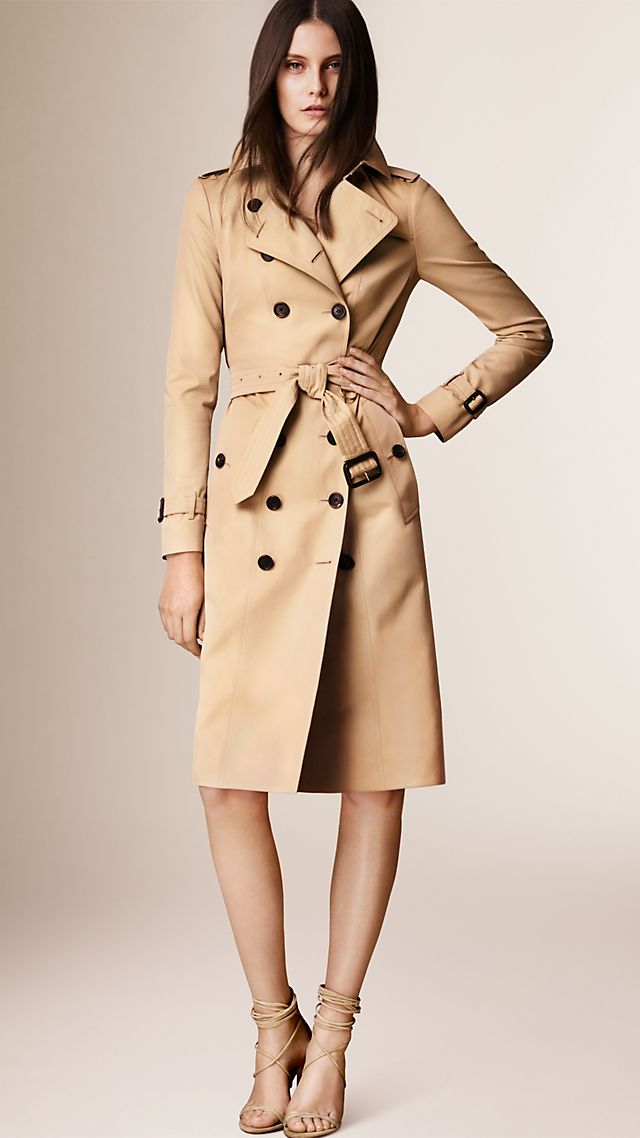 The Sandringham Ð Extra-long Heritage Trench Coat