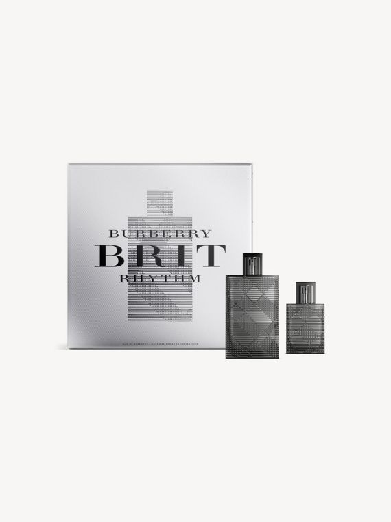 Set di lusso Burberry Brit Rhythm For Him per le feste