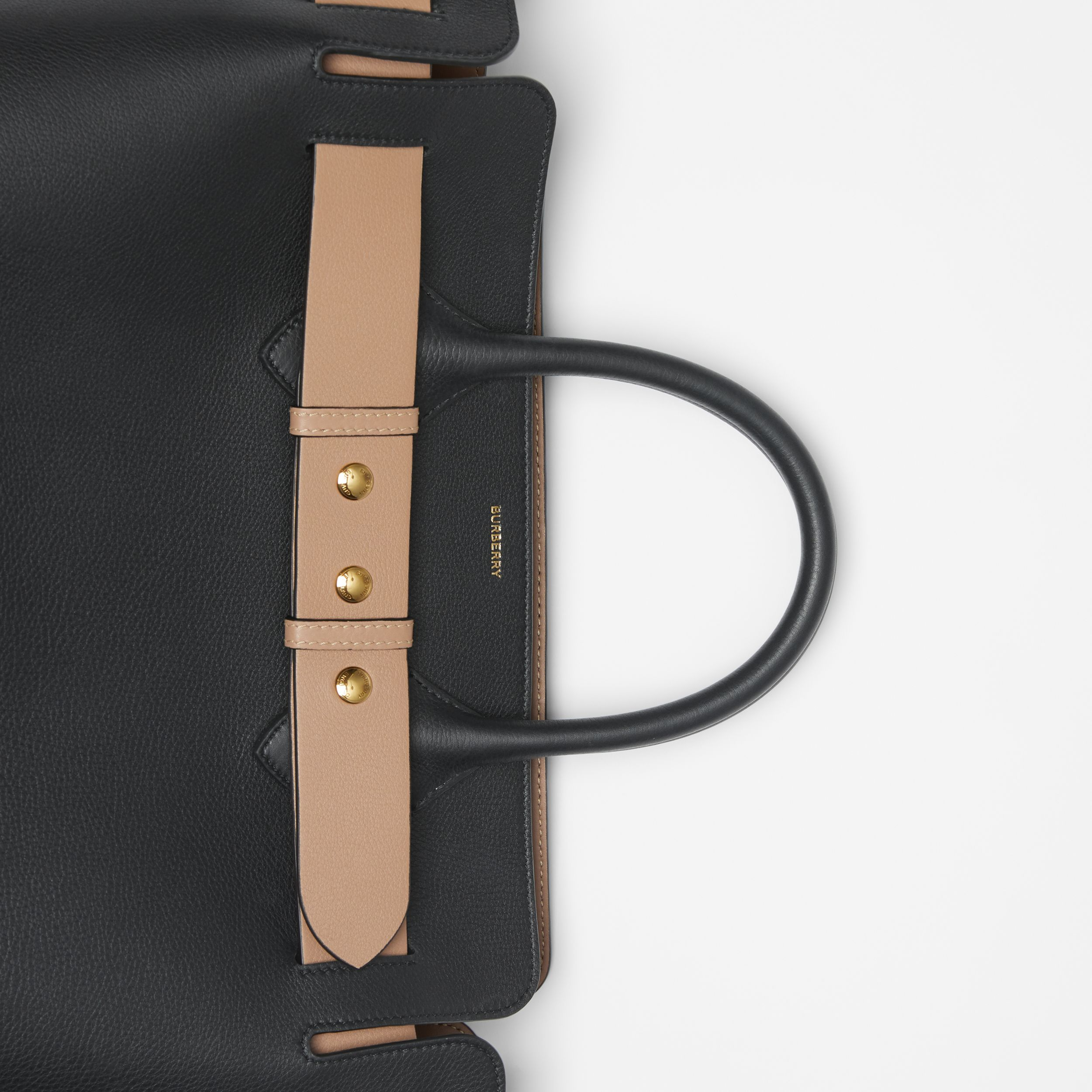 The Medium Belt Bag aus Leder mit Ziernieten (Schwarz) - Damen | Burberry - 2