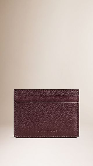 Grainy London Leather Card Case