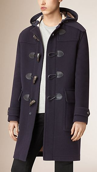 Oversized Wool-Blend Duffle Coat