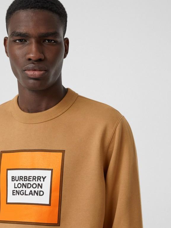 Толстовка с логотипом Burberry (Теплый Ореховый) - Для мужчин | Burberry - cell image 1