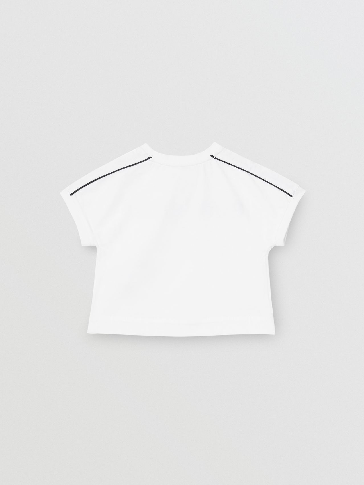 Logo Cotton T-shirt (White)