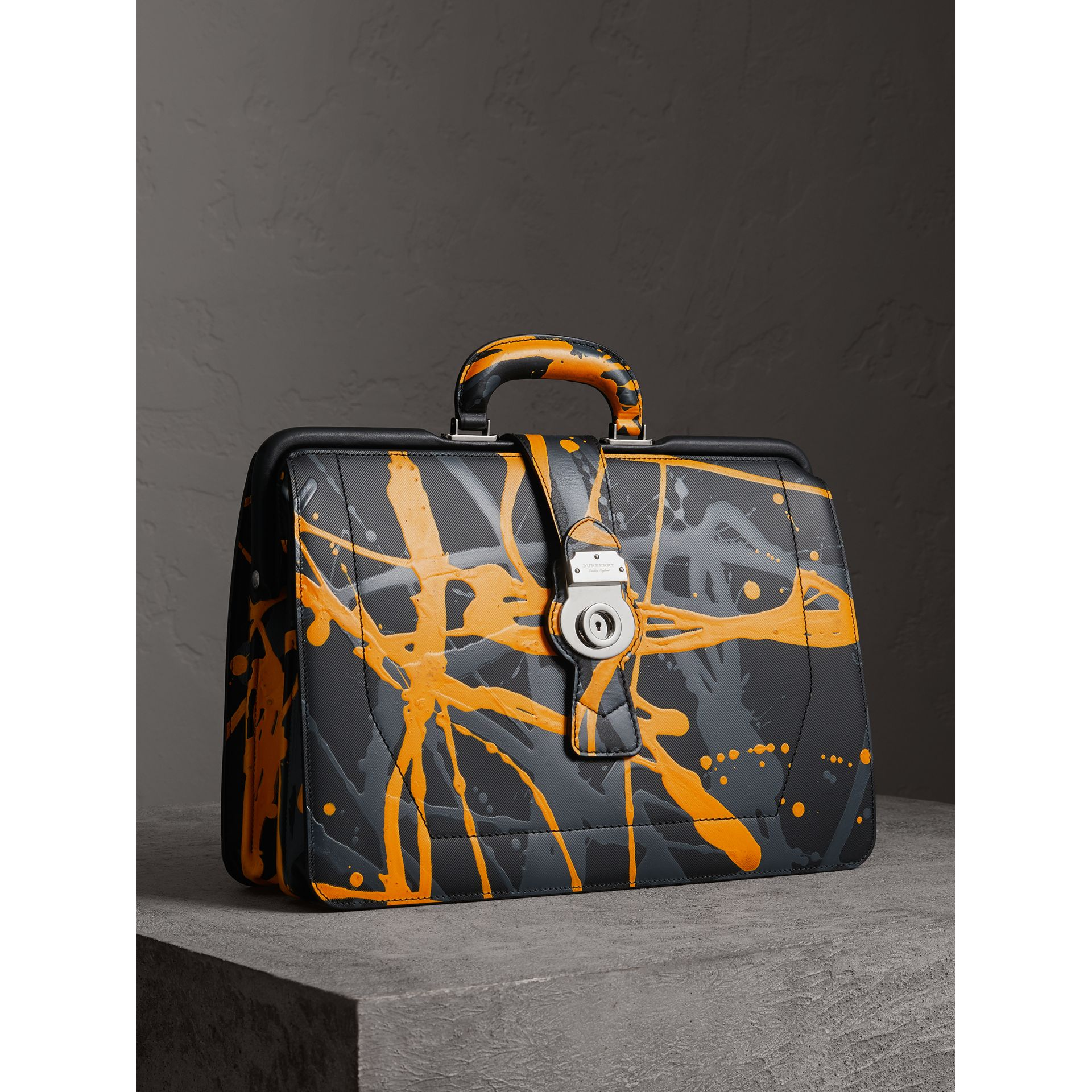 The DK88 Splash Doctor's Bag in Black/splash - Men | Burberry United Kingdom - gallery image 7