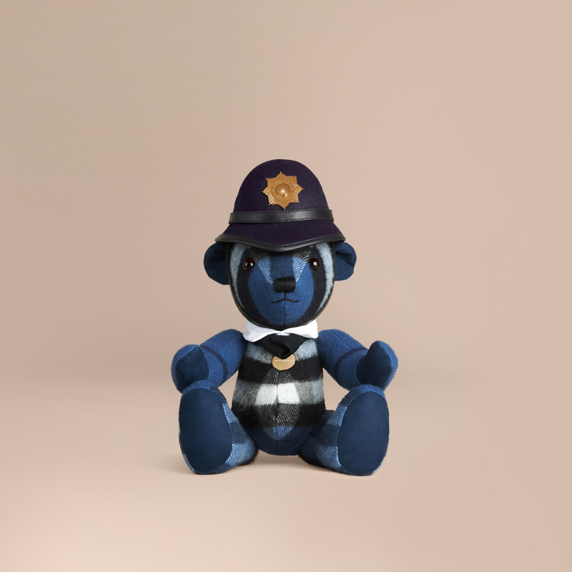 The Bobby Thomas Bear in Cadet Blue | Burberry Australia - gallery image 1