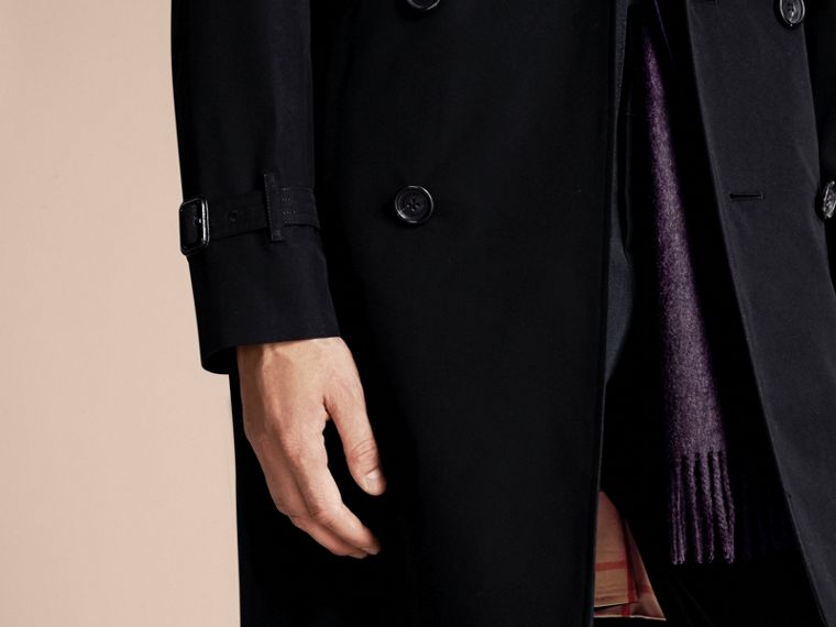 Black The Wiltshire – Long Heritage Trench Coat Black - cell image 4