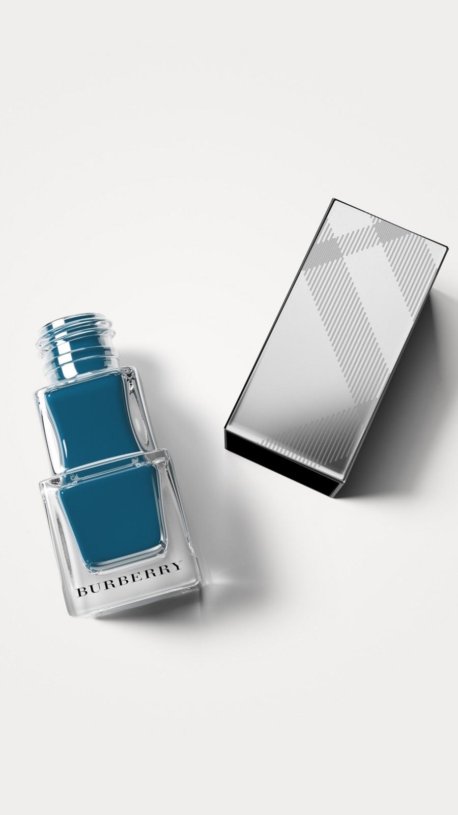 Teal blue 427 Nail Polish - Teal Blue No.427 - Image 1