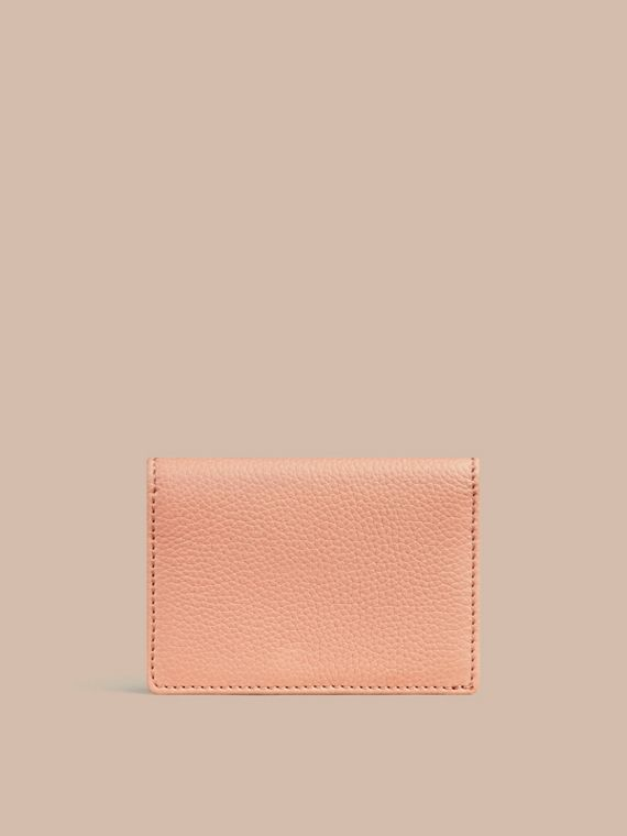 Pink apricot Grainy Leather Card Case Pink Apricot - cell image 2