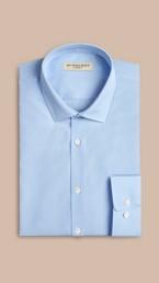Modern Fit Cotton Poplin Shirt