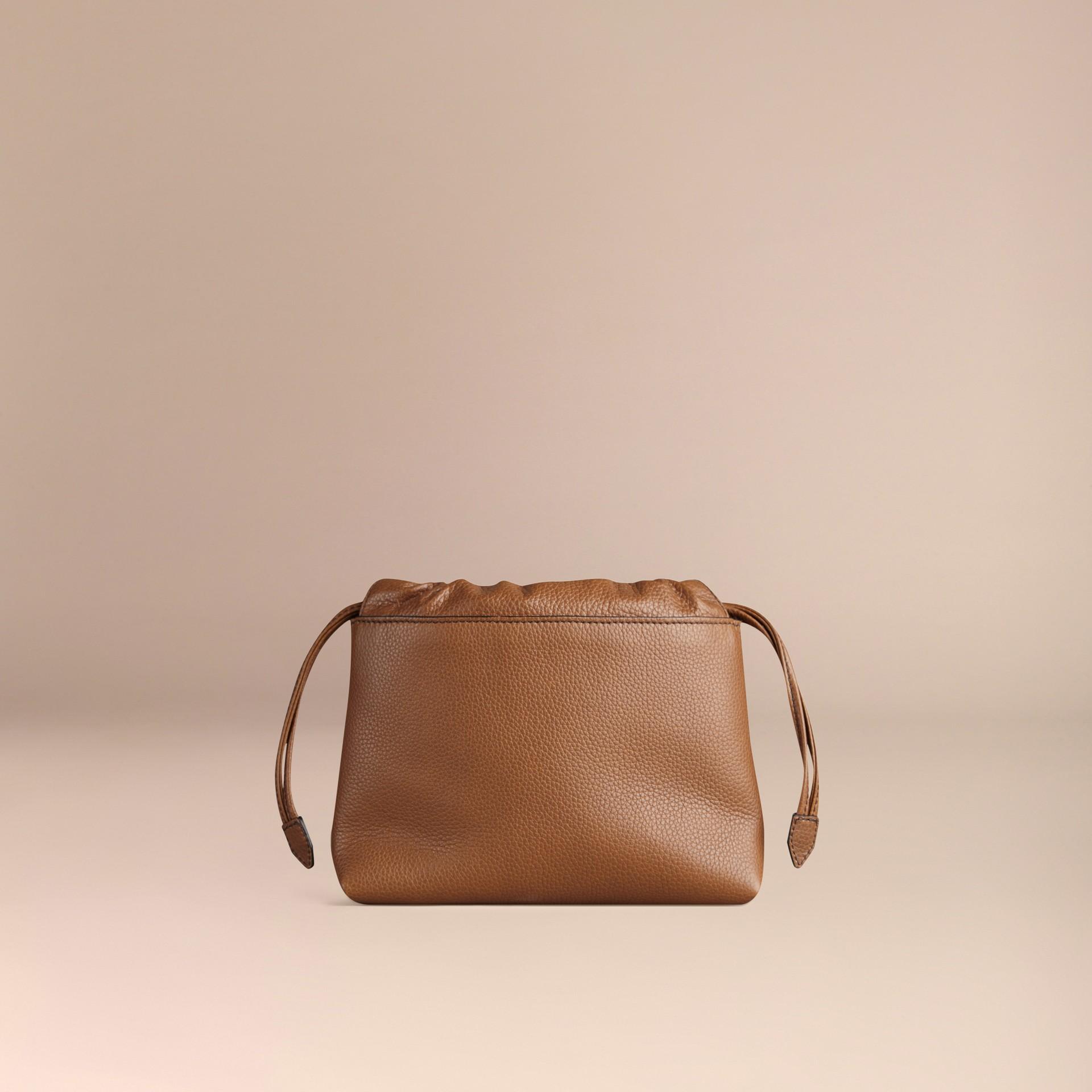 Hâle Sac The Mini Crush en cuir grené Hâle - photo de la galerie 4