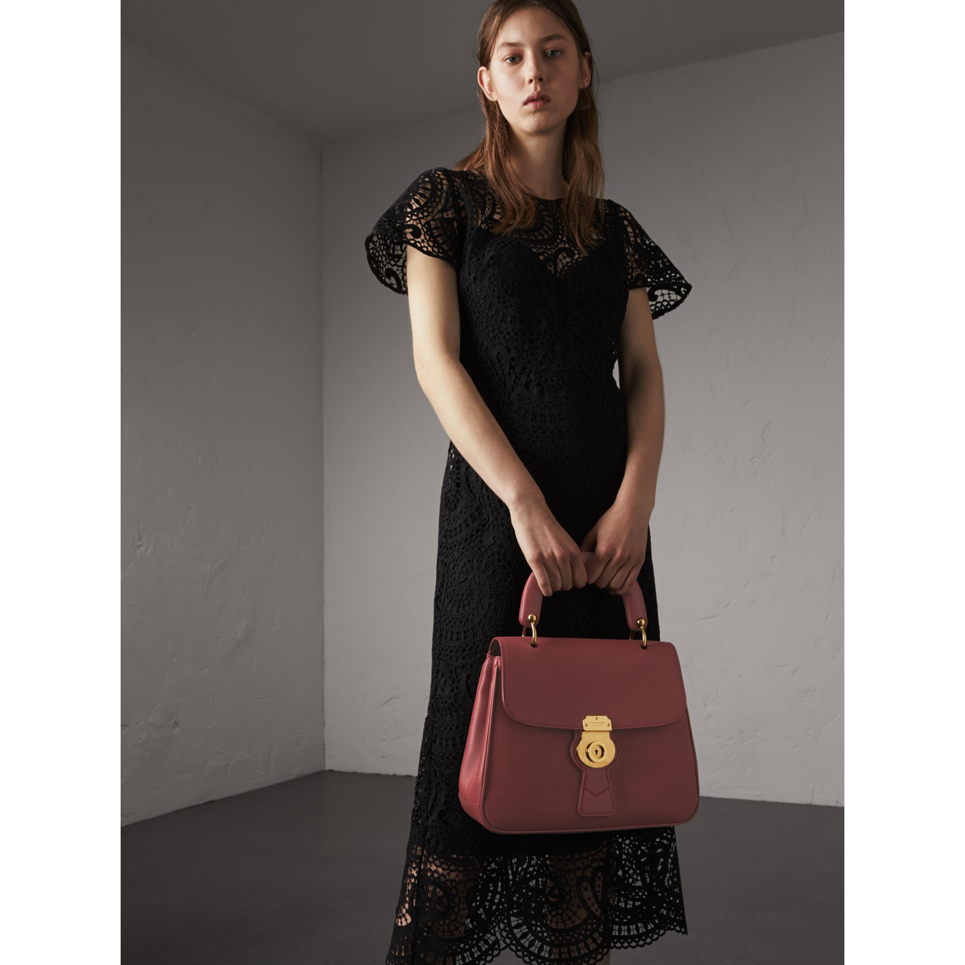 The Medium DK88 Top Handle Bag in Antique Red - gallery image 3