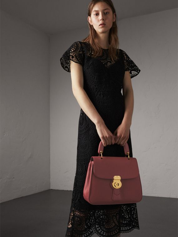 The Medium DK88 Top Handle Bag in Antique Red - Women | Burberry Australia - cell image 2