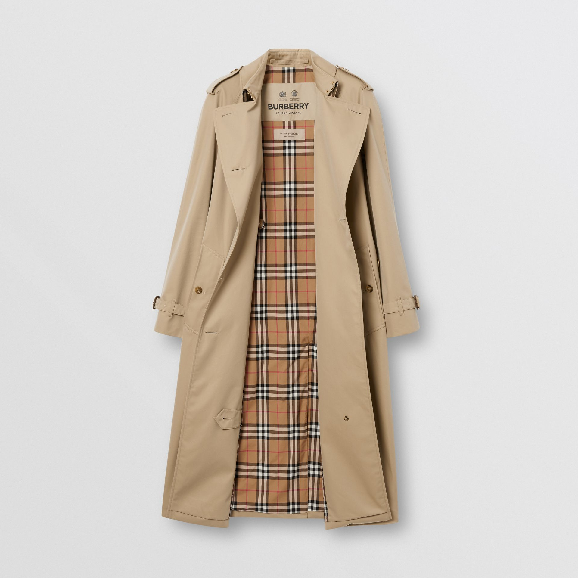 The Waterloo Trench Coat in Honey - Women | Burberry - gallery image 7