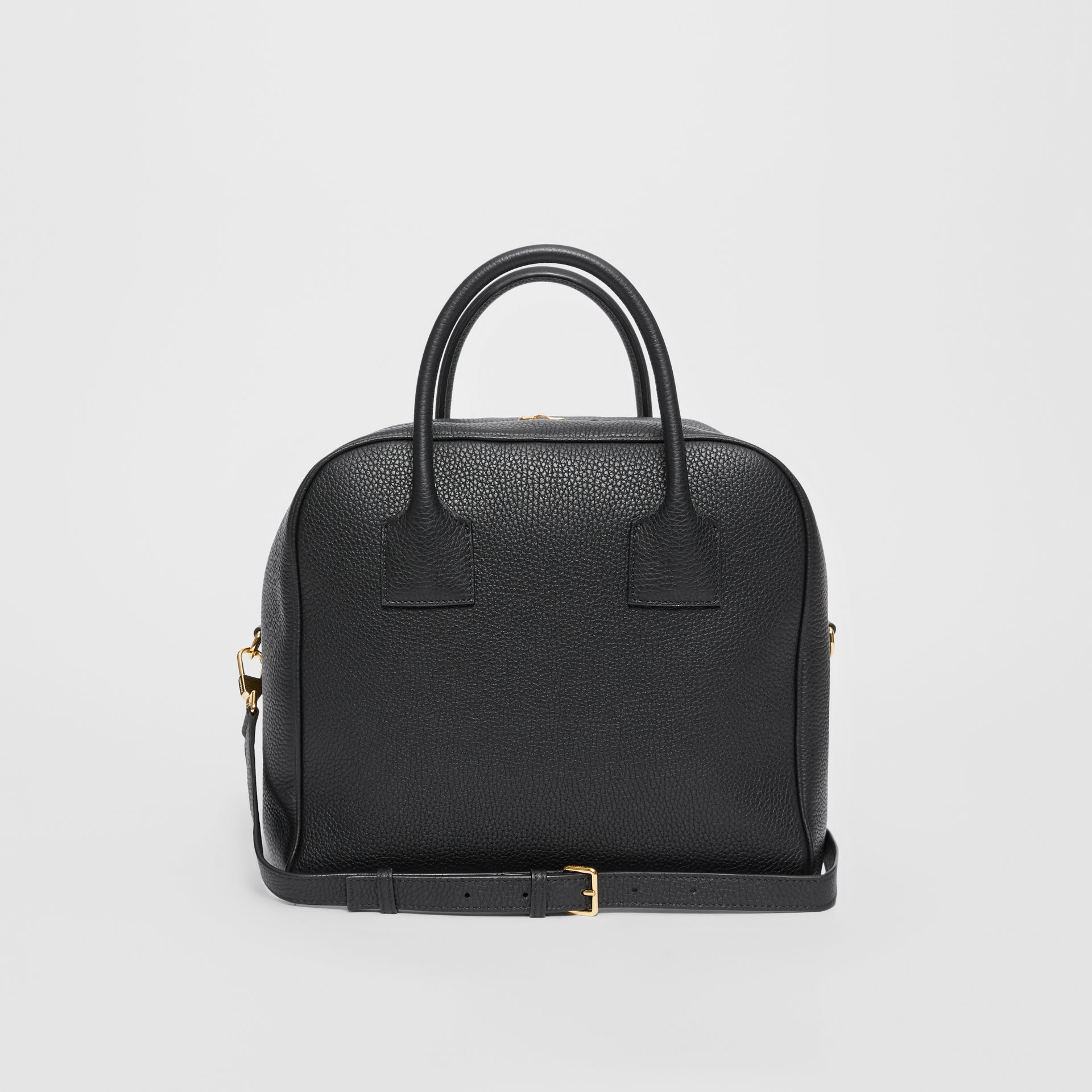 Medium Leather Cube Bag in Black - Women | Burberry Hong Kong S.A.R - gallery image 7
