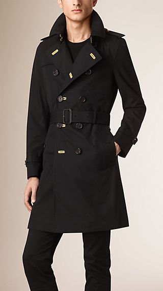 The Chelsea - Trench coat militare in gabardine