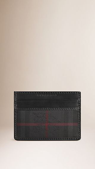 Horseferry Check Card Case