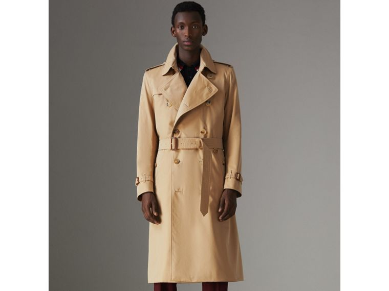 Trench coat Heritage Kensington largo (Miel) - Hombre | Burberry - cell image 4