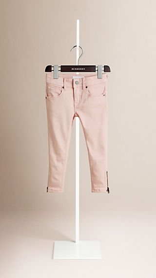 Jean skinny en denim extensible