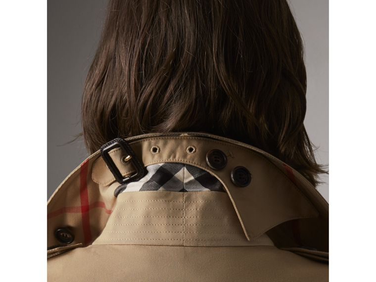 The Sandringham – Extra-long Trench Coat in Honey - Women | Burberry United States - cell image 1