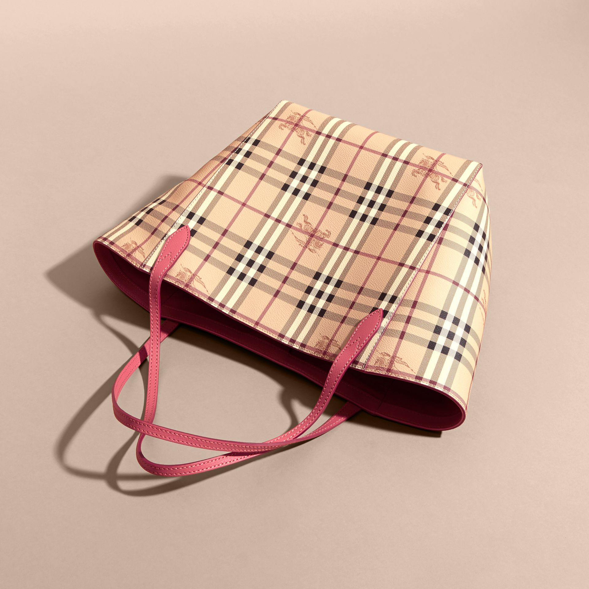 Розовая слива Сумка Canter в клетку Haymarket Check Розовая Слива - изображение 6