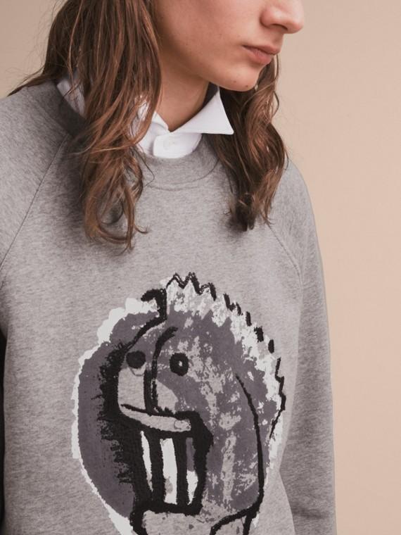 Sweat-shirt unisexe à motif Pallas Heads