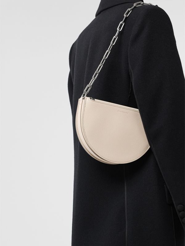 The Small Leather D Bag in Stone - Women | Burberry Australia - cell image 3
