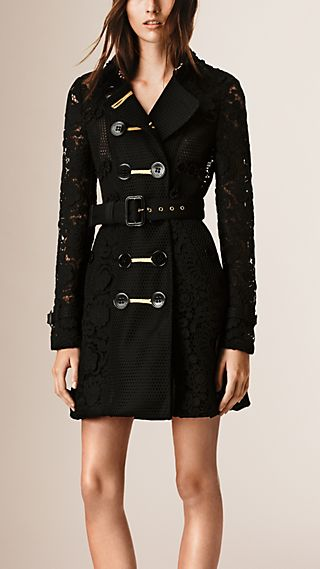 The Lace Trench Coat