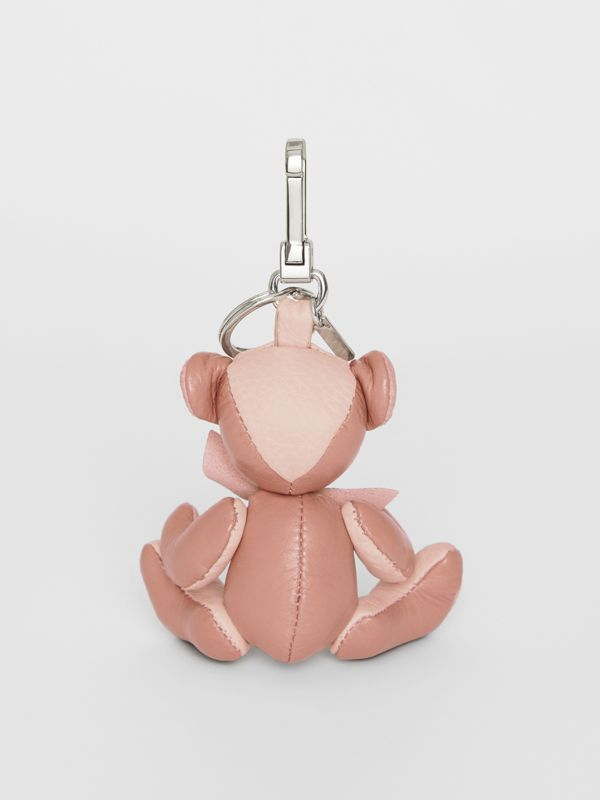 Thomas Bear Charm in Leather in Copper Pink/chalk Pink - Women | Burberry Singapore - cell image 3