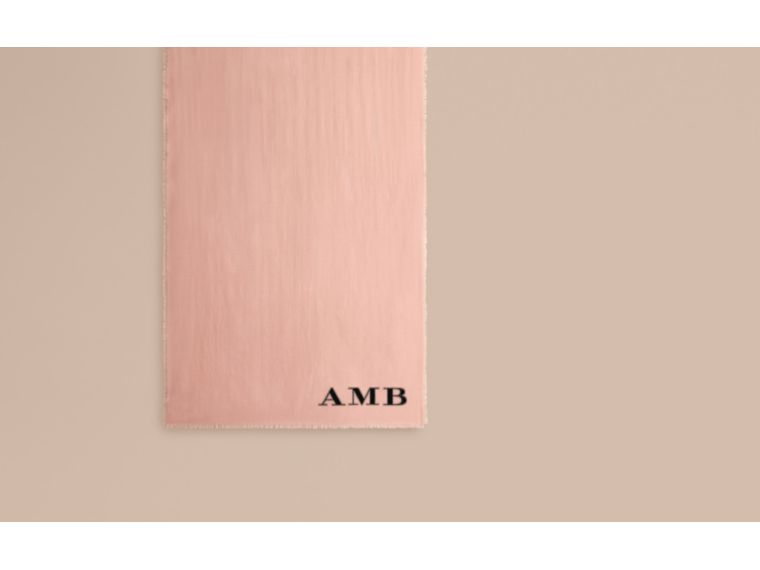 The Lightweight Cashmere Scarf in Ash Rose - cell image 1