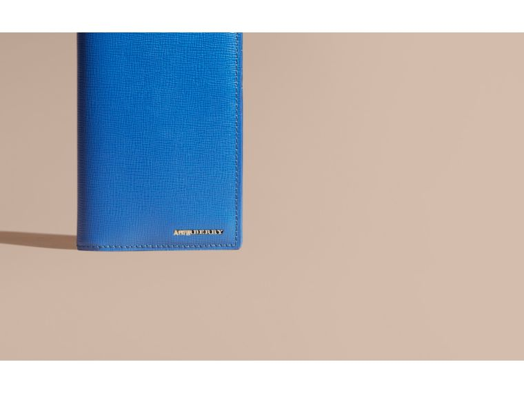 London Leather Continental Wallet Mineral Blue - cell image 1