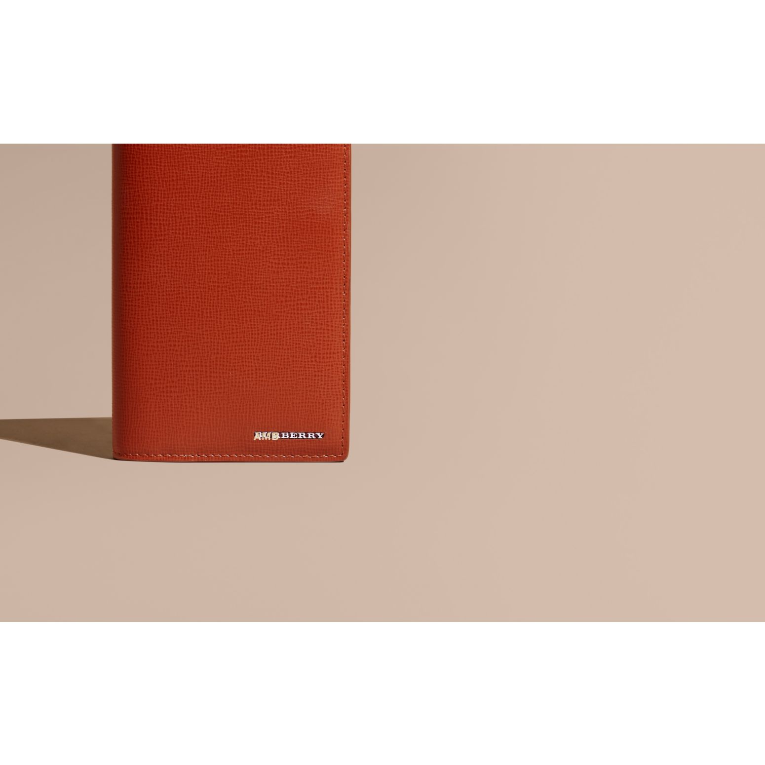 London Leather Continental Wallet Burnt Sienna - gallery image 2