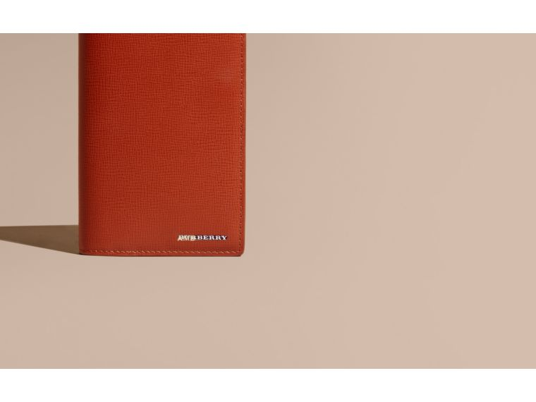 Burnt sienna London Leather Continental Wallet Burnt Sienna - cell image 1