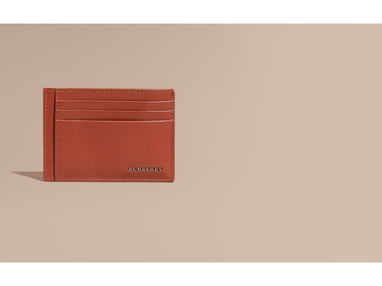 Burnt sienna London Leather Card Case Burnt Sienna - cell image 1