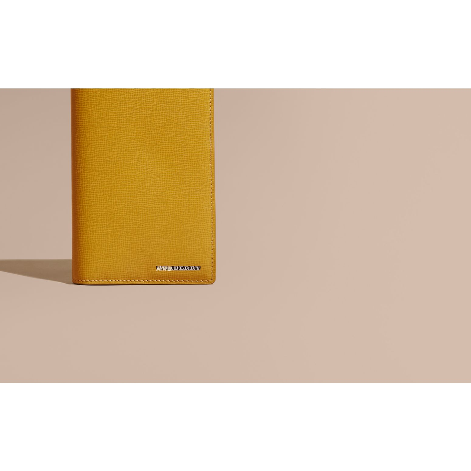 London Leather Continental Wallet Larch Yellow - gallery image 2